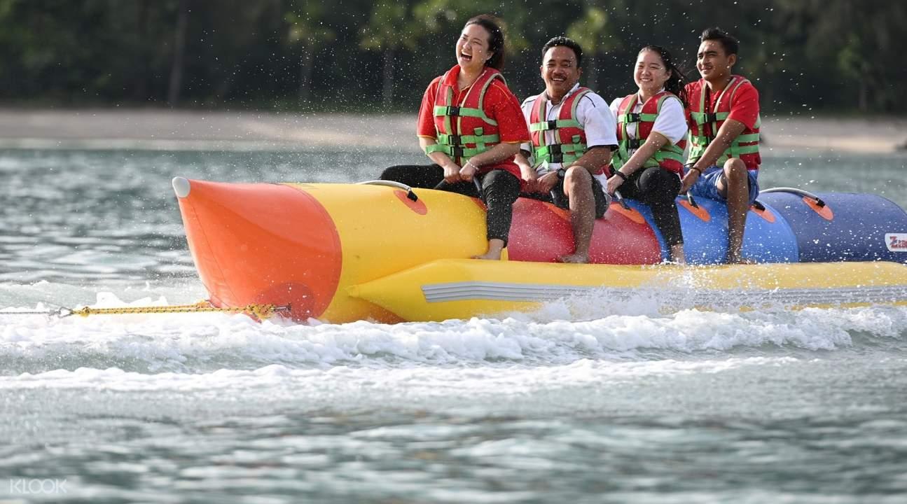 banana boat ride of paradise 101